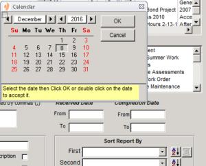 TeamWORKS Calendar Screenshot